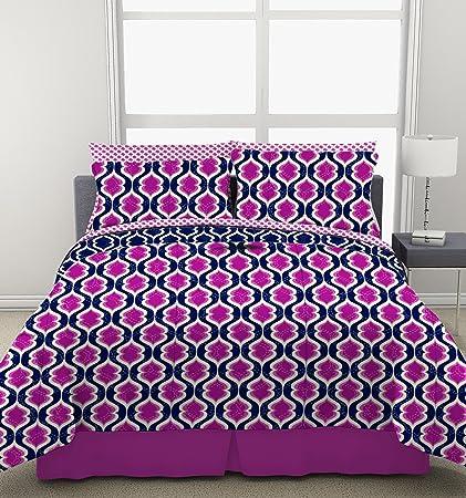 Amazoncom Pop Shop Boho Trellis Bed In A Bag Home Kitchen