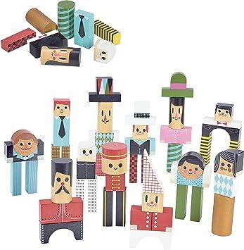 Vilac Vilac7717 - Bloques de construcción para Personajes: Amazon ...