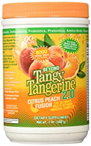 Beyond Tangy Tangerine 2.0 Citrus Peach Fusion - 480g Canister