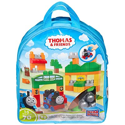 Mega Bloks Thomas & Friends Thomas Sodor Adventures Building Bag: Toys & Games