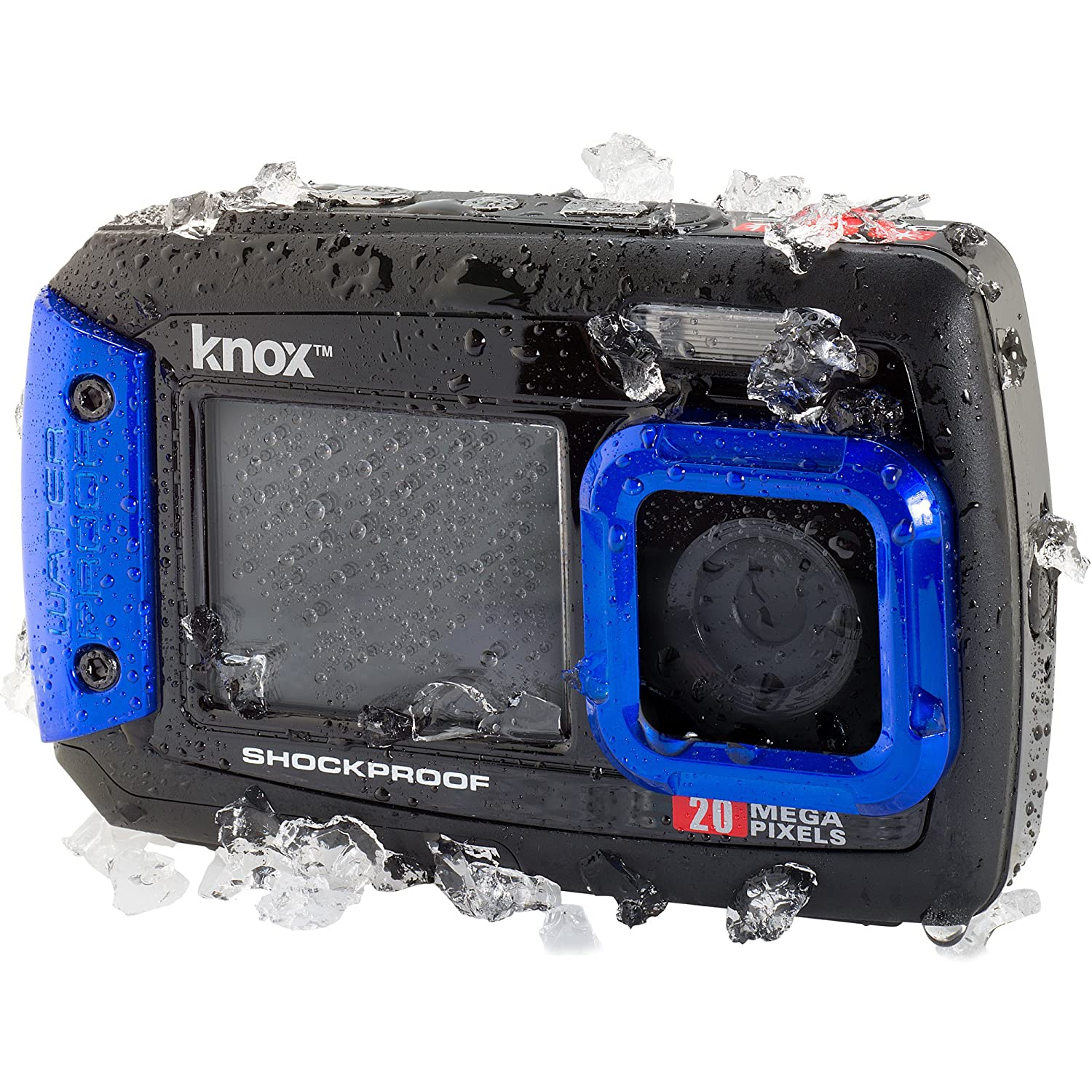 Amazon.com : Knox Dual LCD Display 20MP Waterproof & Shockproof ...