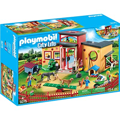 PLAYMOBIL Tiny Paws Pet Hotel: Toys & Games