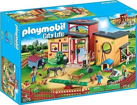 PLAYMOBIL City Life Hotel de Mascotas, a Partir de 4 Años (9275): Amazon.es: Juguetes y juegos