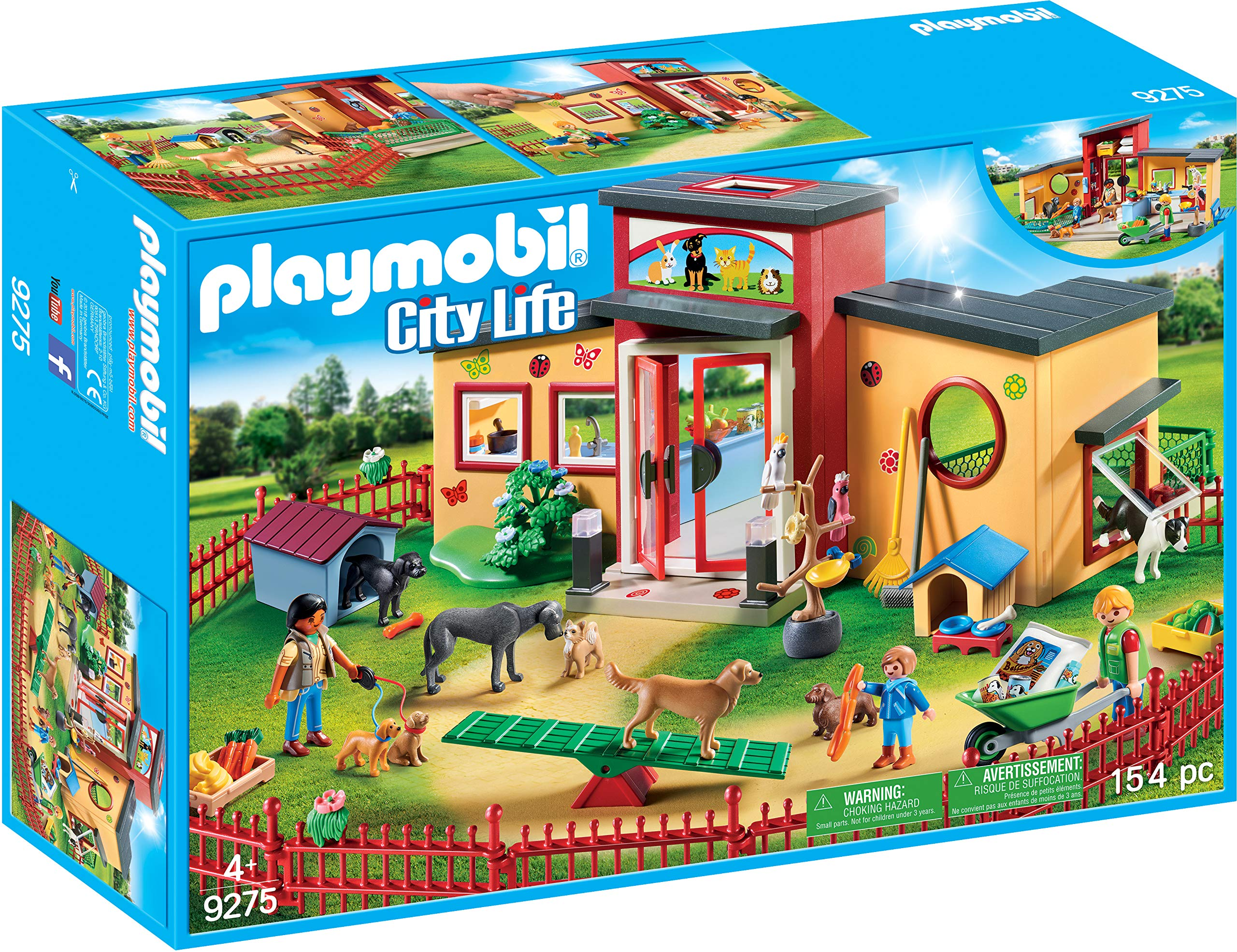 PLAYMOBIL® Tiny Paws Pet Hotel Multicolor by PLAYMOBIL® (Image #1)