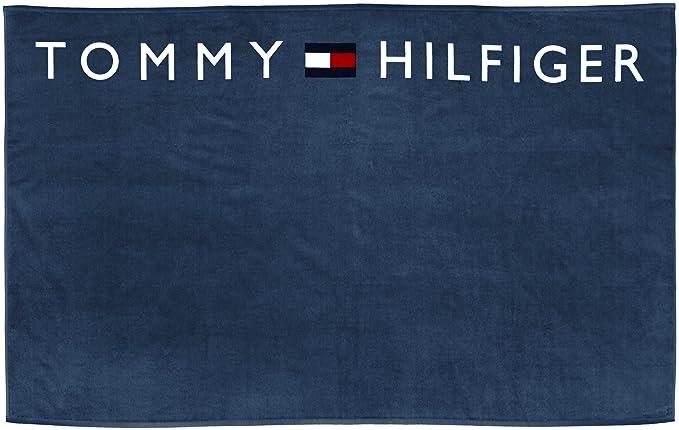 Tommy Hilfiger - Toalla para hombre, color seaport, talla large: Amazon.es: Ropa y accesorios