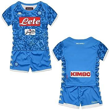 SSC Napoli Equipación de juego local junior azul  Amazon.es ... 34b6034f02646