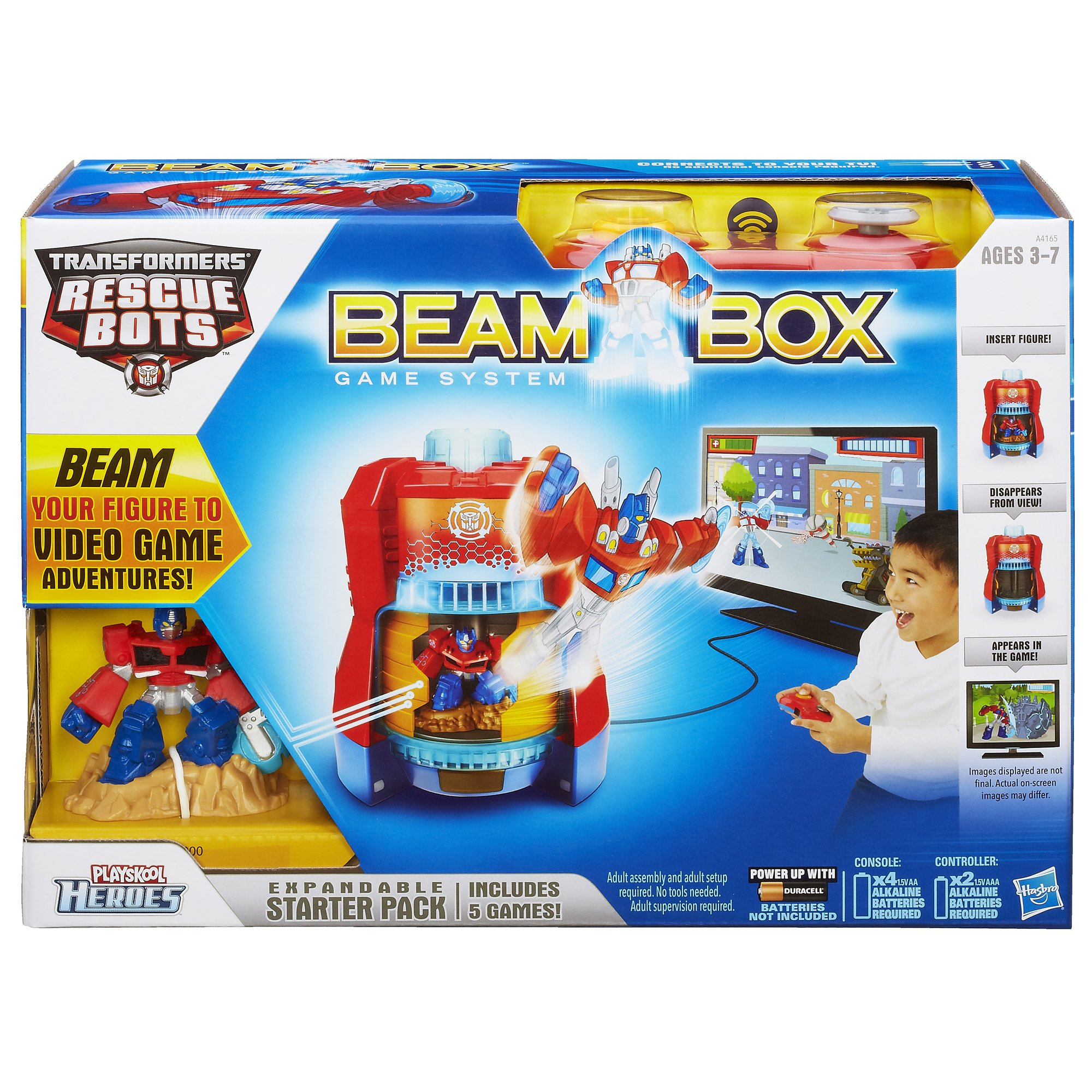 Playskool Heroes Transformers Rescue Bots Beam Box Game System by Transformers (Image #2)