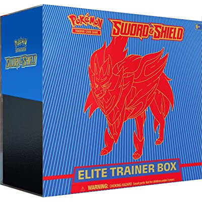 Pokemon Pokémon TCG: Sword & Shield Elite Trainer Box: Toys & Games