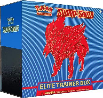Pokemon TCG Sword and Shield Elite Trainer Box 8 booster packs 1