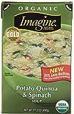 Imagine Organic Soup, Potato Quinoa & Spinach, 17.3 Ounce (Pack of12)