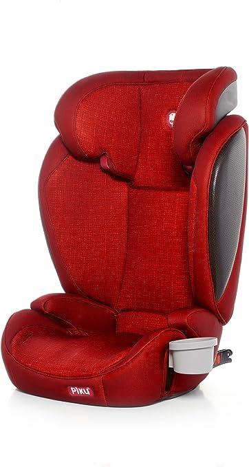 Oferta amazon: Piku Kliku Fix - Silla de Coche Grupo 2/3, color Rojo