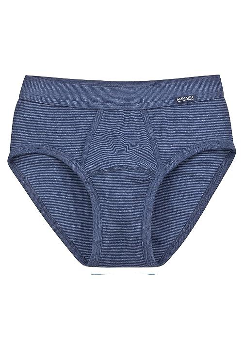 Slip para hombre serie ISCO con abertura color azul marino tallas 5-9 de AMMANN: Amazon.es: Ropa y accesorios