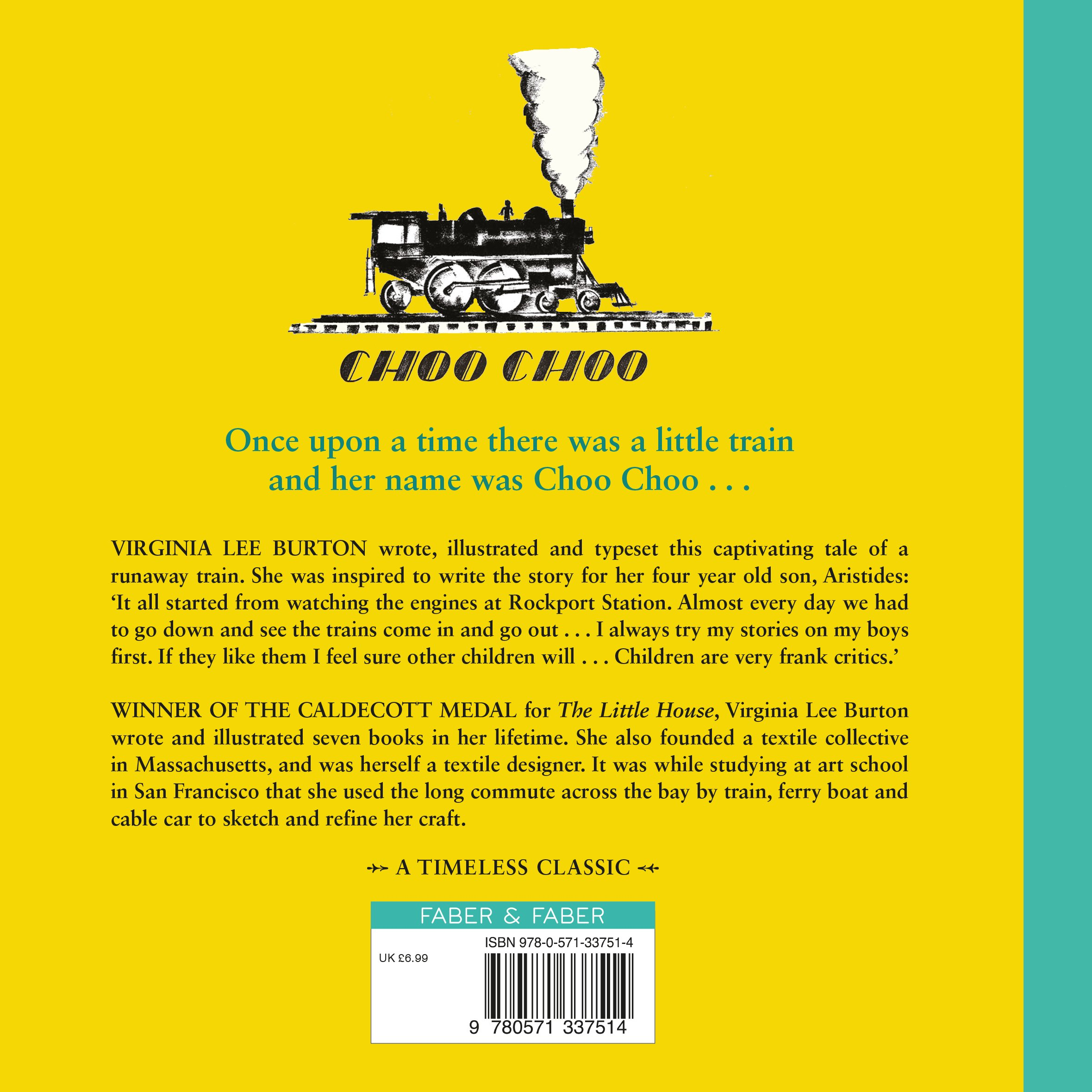 Choo Choo (Faber Heritage Books): Amazon.co.uk: Virginia Lee Burton:  9780571337514: Books