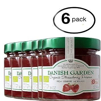 Amazon.com : Danish Garden Organic Strawberry Preserve BUNDLE 6 Pack