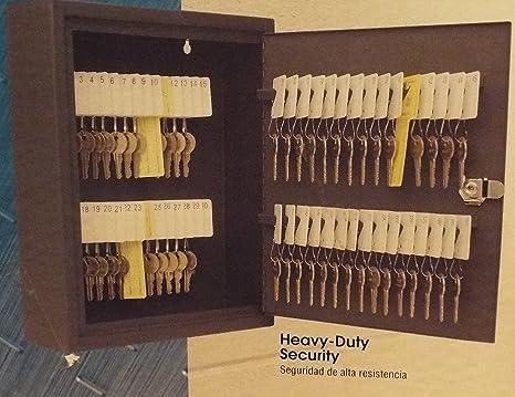 Amazon.com : Steelmaster Steel Security Key Cabinet-Organize ...