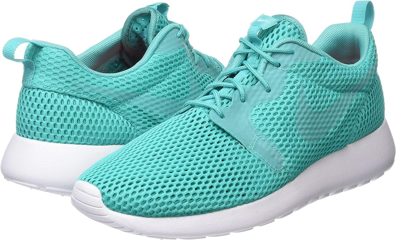Nike Roshe One HYP BR, Zapatillas de Deporte para Hombre, Verde (Clear Jade/Clear Jade-White), 52 1/2 EU: Amazon.es: Zapatos y complementos