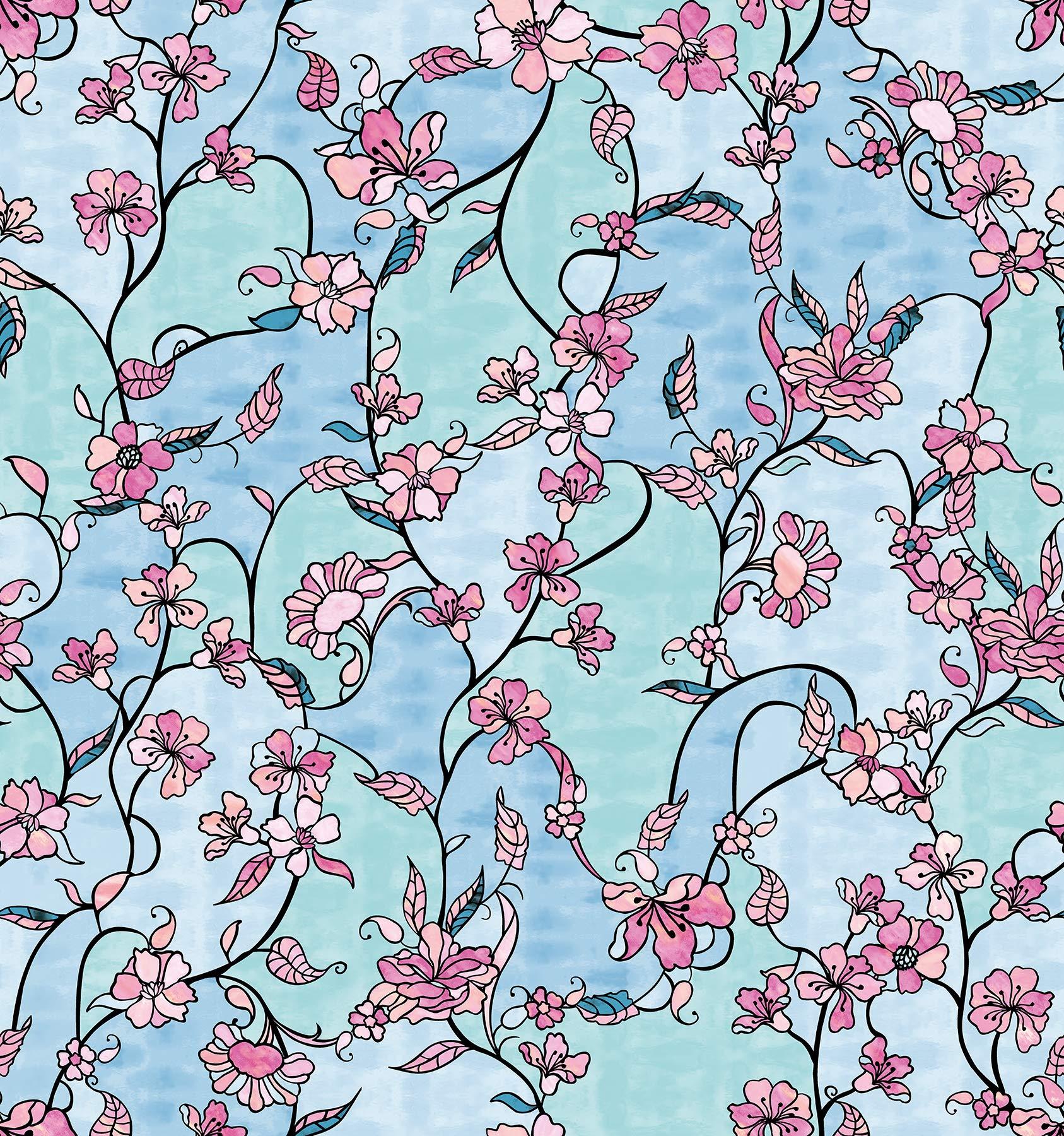 DC Fix 338-8141 Cherry Blossom Window Adhesive Film, Multicolor