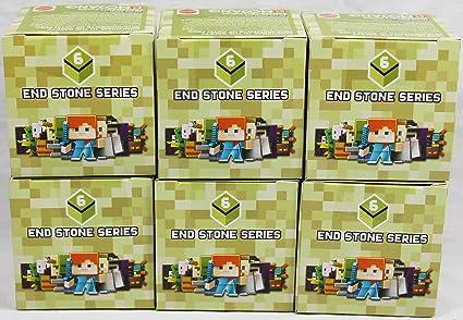 Amazon.com: Paquete de 6: Minecraft Final Stone Blind Box ...