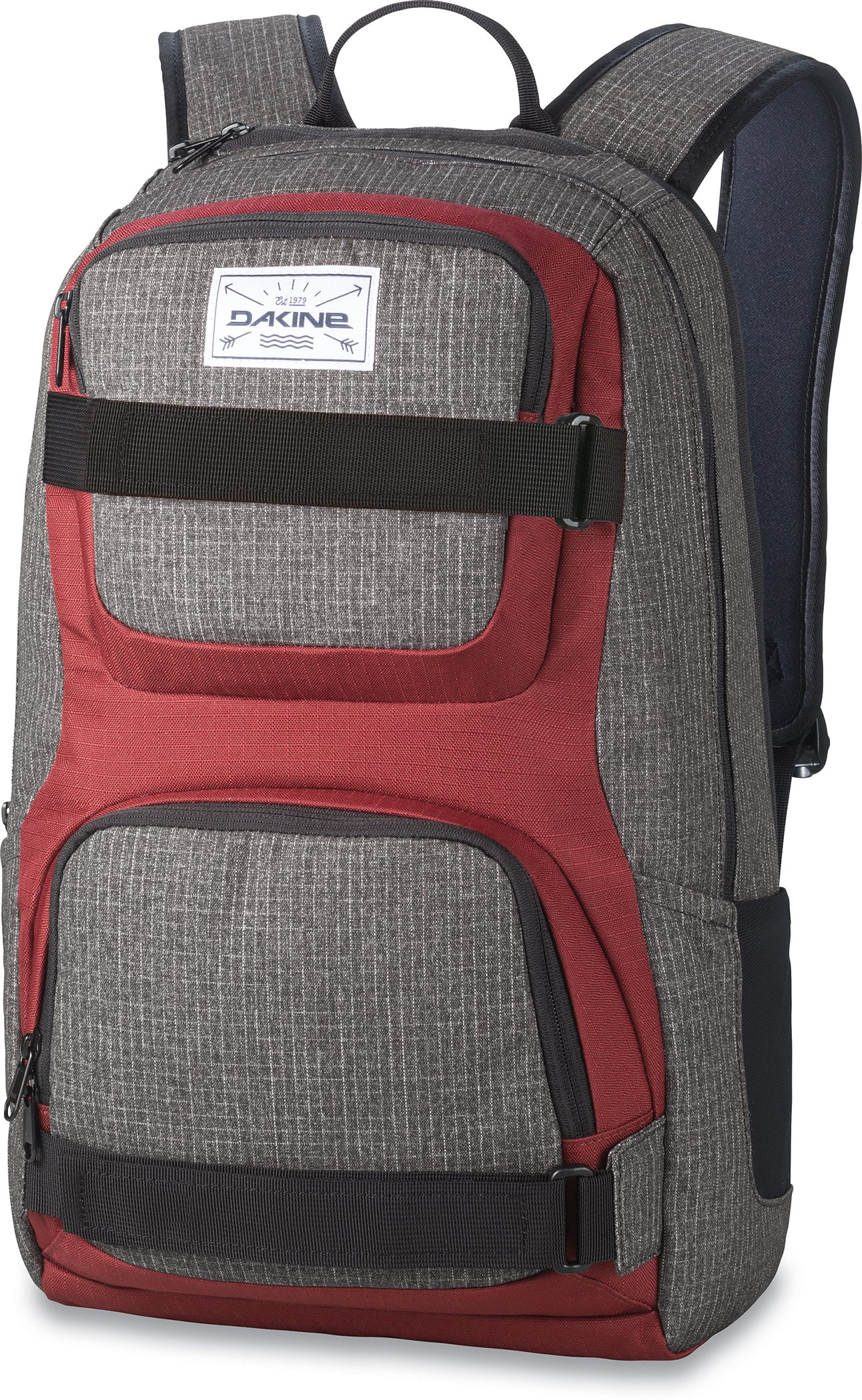 Dakine Duel 26L Backpack - Padded Laptop & iPad Sleeve - Insulated Cooler Pocket - Mesh Side Pockets - 19'' x 12'' x 9'' (Willamette)