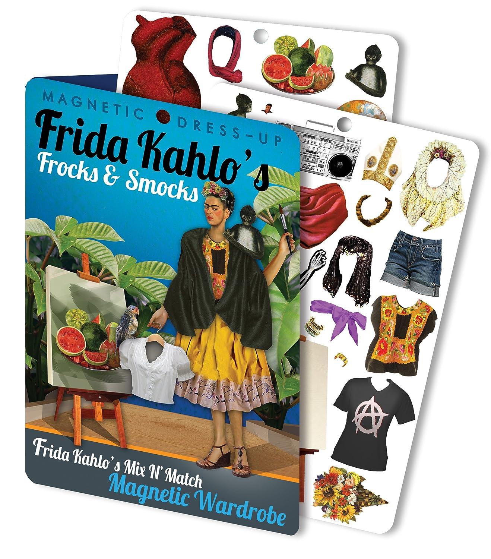 Frida Kahlo Magnetic Dress Up Doll Play Set Fridas Frocks and Smocks