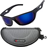 ZILLERATE TR90 Mens Womens Polarised Sports Sunglasses, UV400 Protection, Wrap Around Lightweight Unbreakable Frame, Cycling Fishing Golf Mountain Bike Skiing Sailing Running Walking Driving & All Sport & Outdoors, Accessories Include Hard Case