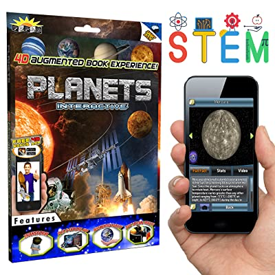 POPAR READ IT. SEE IT. BE IT. Planets 4D Interactive Smart Book and App: Toys & Games