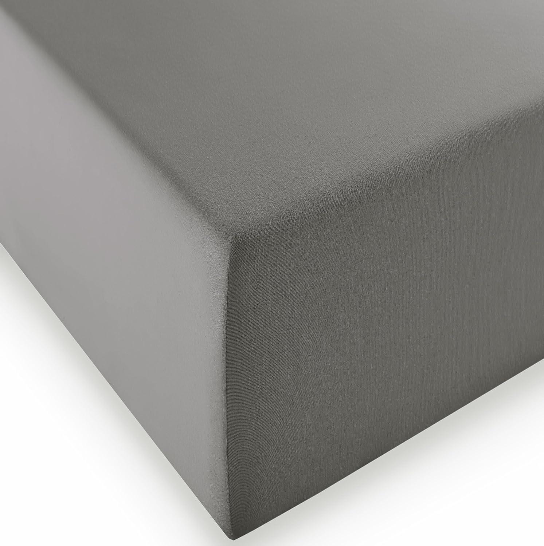Fleuresse Comfort XL - Sábana Bajera Ajustable (180 x 200 cm ...