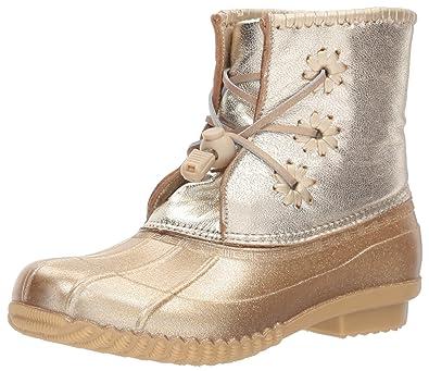 9203d1bd42c Amazon.com | Jack Rogers Kids' Miss Chloe Glitter Rain Boot | Boots