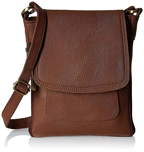 c11453b0f9d6 Style loft Leather Brown Sling Side Bag Cross Body Purse for Women   Girls( SL-014)  Amazon.in  Shoes   Handbags