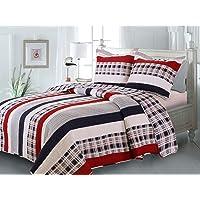 Greenland Home Fashions Nautical Stripe Quilt Set