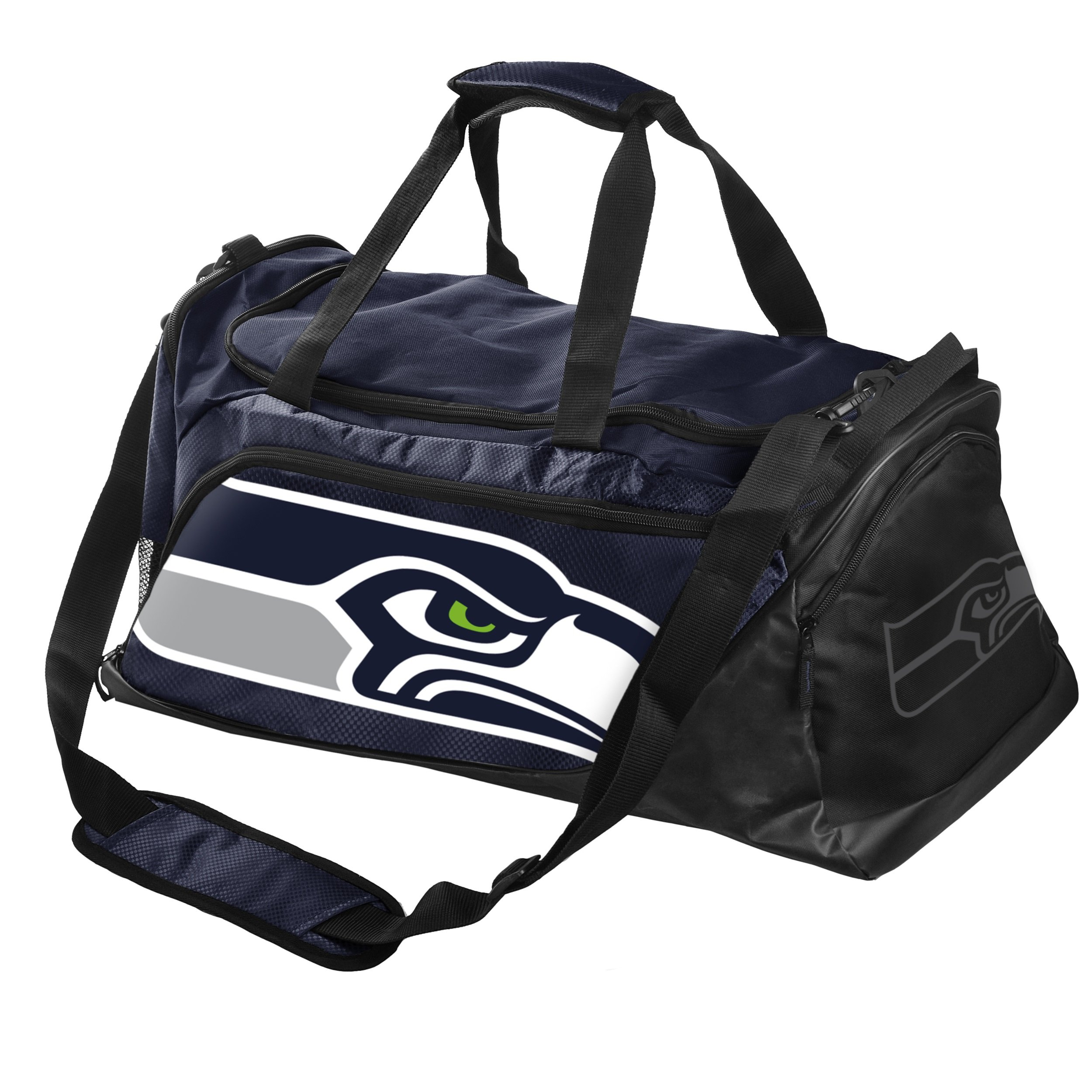 FOCO Seattle Seahawks Locker Room Collection Duffle Bag - Medium