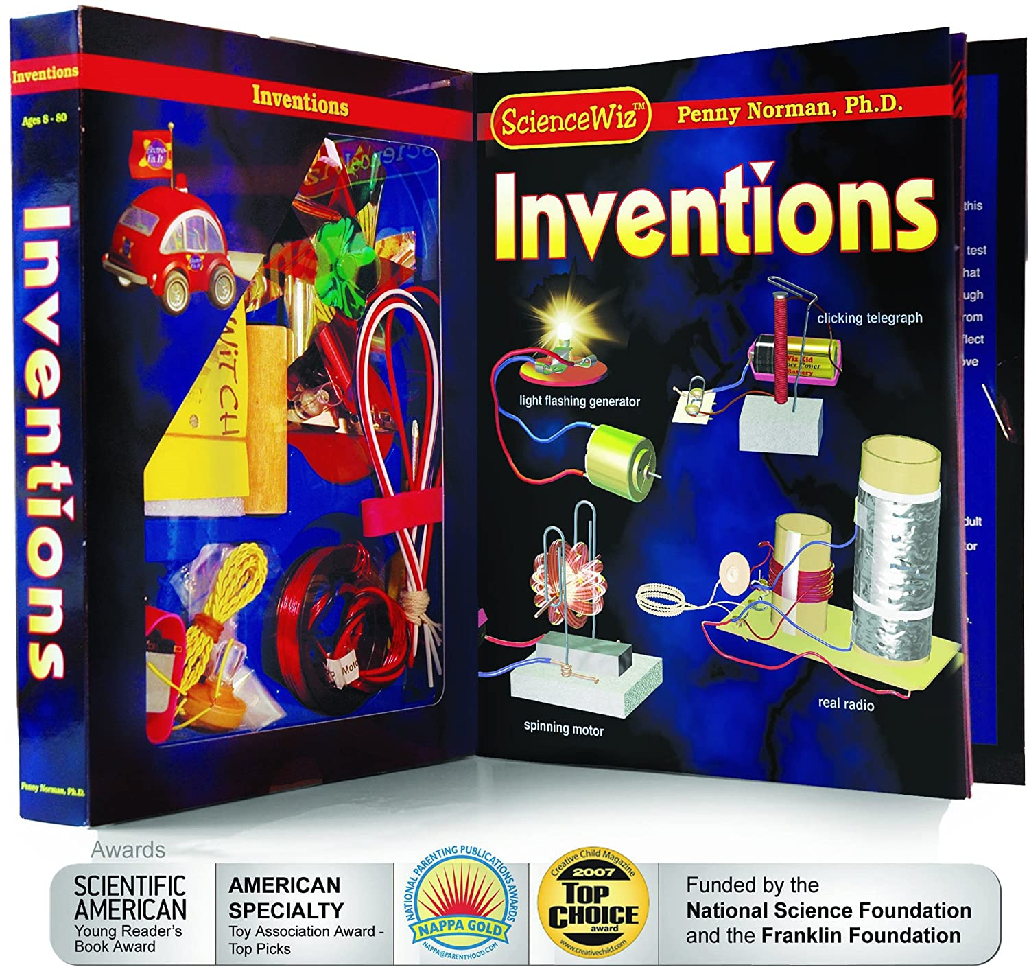 Amazon ScienceWiz Inventions Kit PhD Penny Norman Toys
