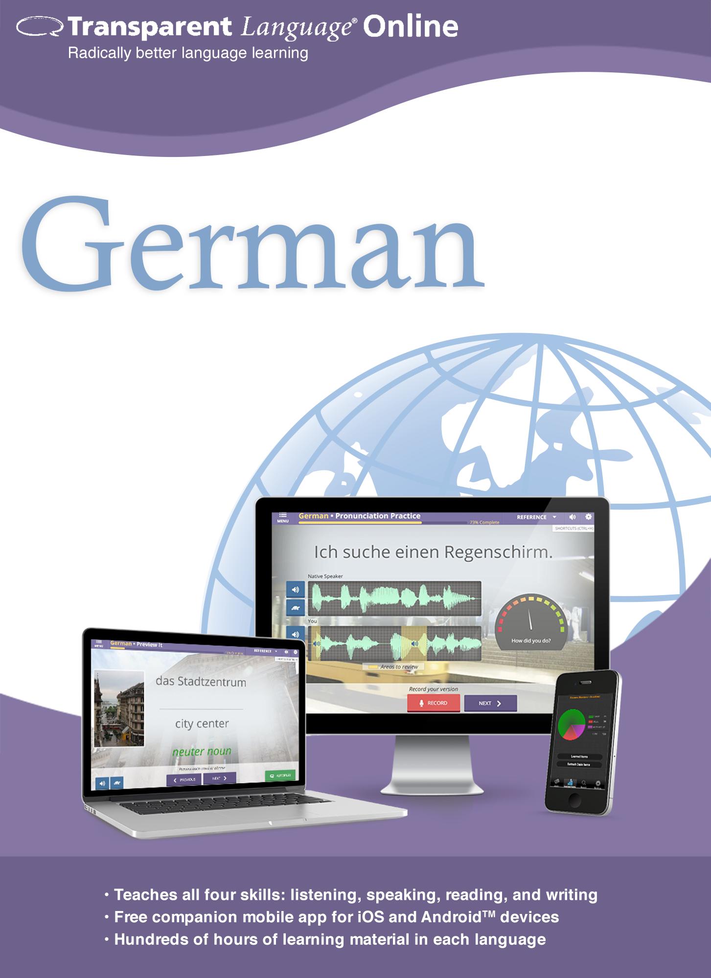 Transparent Language Online - German - 12 Month Subscription for Mac [Online...