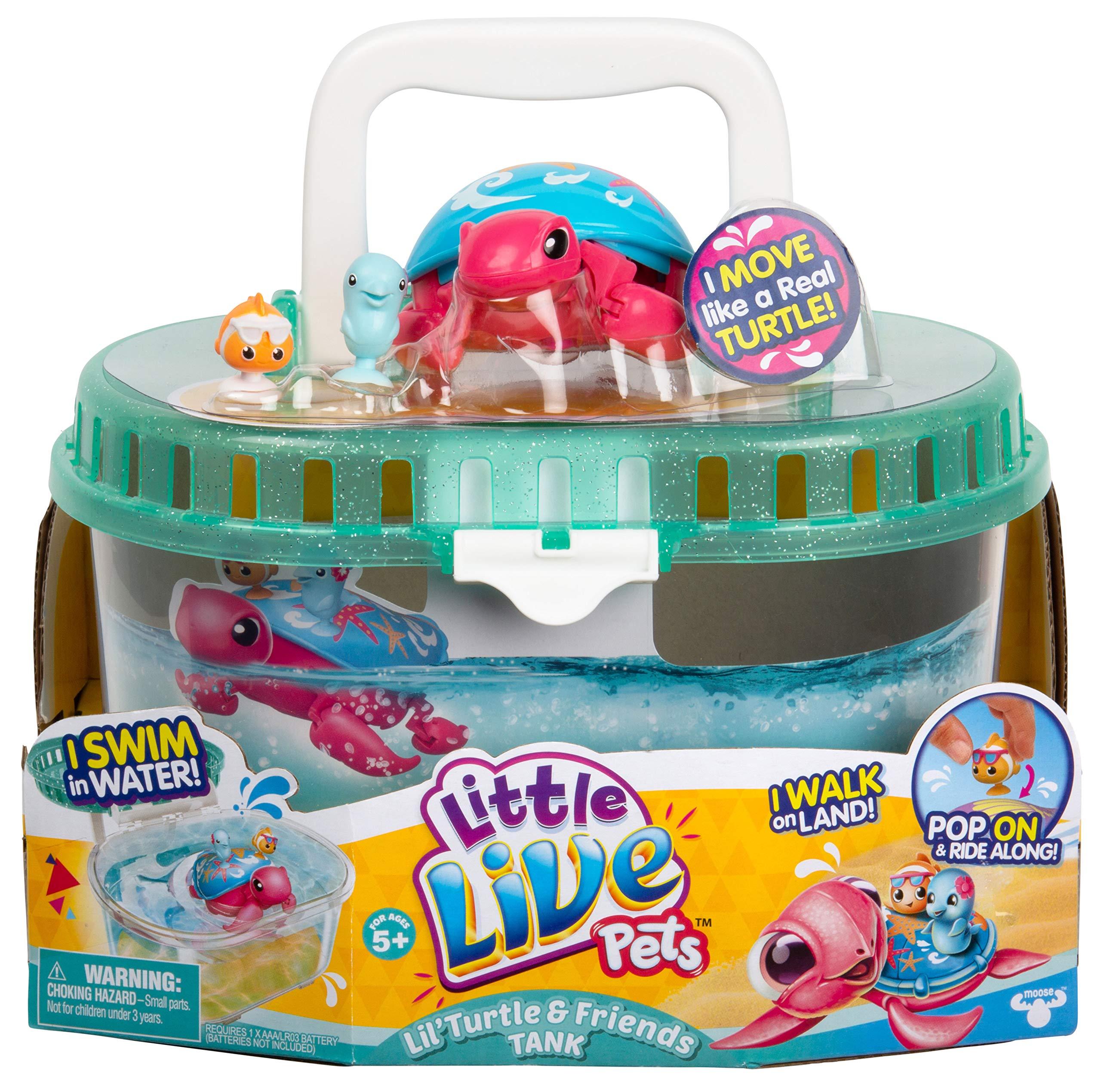Little Live Pets - Turtle Tank - Sandy The Tropical Turtle by Little Live Pets