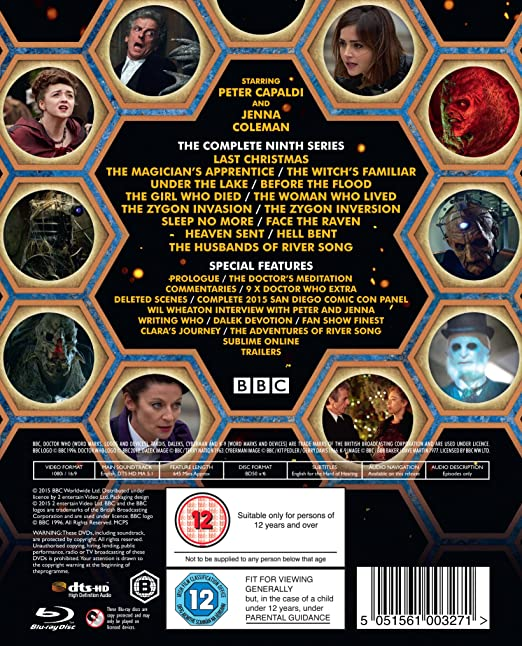 Doctor Who - Series 9 [DVD] [2015]: Amazon.co.uk: Peter Capaldi ...