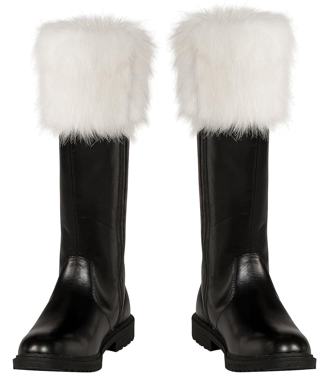 Rubies Costume Men's Adult Santa Boots, Multi, One Size Rubie' s Costume Co 810911