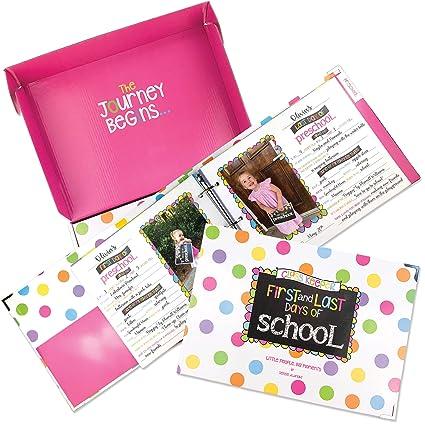 amazon com school memory book keepsake album scrapbook for kids