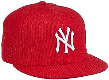 New Era Boy s MLB 9 Fifty Yankees Baseball Cap - Red White da9eca15247