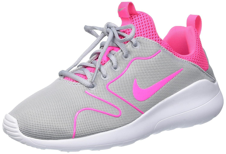 Nike Wmns Kaishi 2.0, Zapatillas de Deporte para Mujer 37.5 EU|Gris (Wolf Grey / Pink Blast-white)
