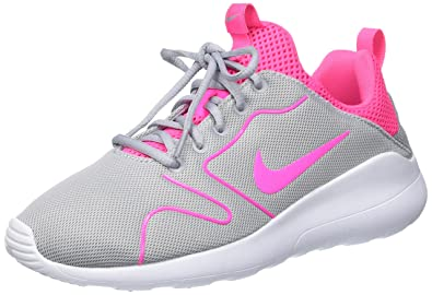 the latest be3d8 81e81 ... clearance nike womens kaishi 2.0 wolf grey pink black white running shoe  6 women us 230af
