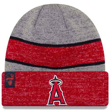 Image Unavailable. Image not available for. Color  New Era Knit Anaheim  Angels Biggest Fan Redux Sport Knit Winter Stocking Beanie Pom Hat Cap a67c0f139570