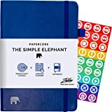 Simple Elephant Undated Planner 2020-2021 - Daily, Weekly, Monthly Planner & Notebook - High Performance Organizer for Produc