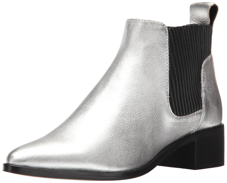 Dolce Vita Women's Macie Fashion Boot B072QCPB11 7.5 B(M) US|Silver Leather