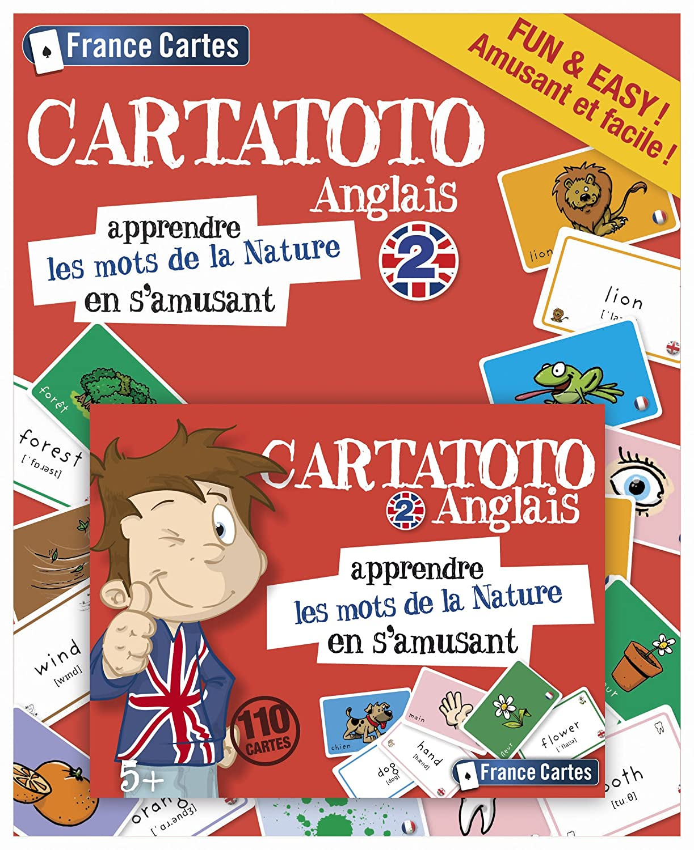 France Cartes Cartatoto - Inglés 2 - Las Palabras De La ...