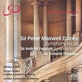 Sir Peter Maxwell Davies: Symphony No. 10; Sir Andrzej Panufnik: Symphony No. 10