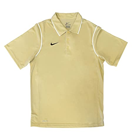 NIKE Gung-Ho Polo, Mens (Vegas Gold/White, Small): Amazon.es ...