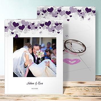 Amazonde Fotoalbum Goldene Hochzeit Herzhimmel 92 Seiten