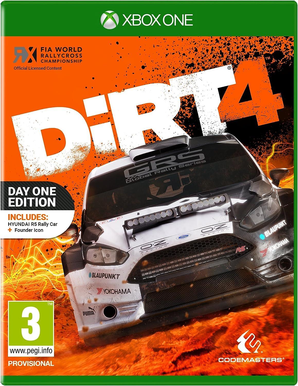 Dirt 4 Day One Edition - Xbox One [Importación inglesa]: Amazon.es ...