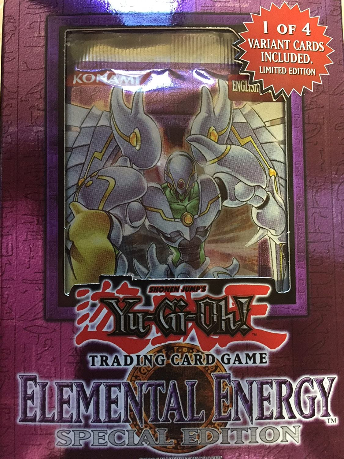 YuGiOh Card Game Elemental Energy SE Special Edition Pack [Toy]