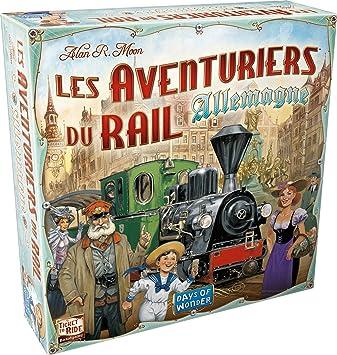 Asmodee-Les Aventuriers du Rail-Alemania Juego de Mesa AVE20, Multicolor: Amazon.es: Juguetes y juegos